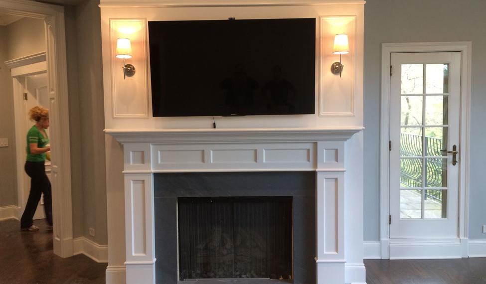 Custom Fireplace By Hanzel Construction Group Inc