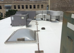 Protective White Roof Coating