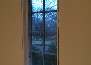 Finish carpentry window trim