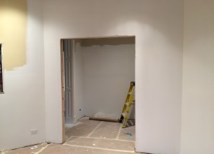 Finish carpentry door trim