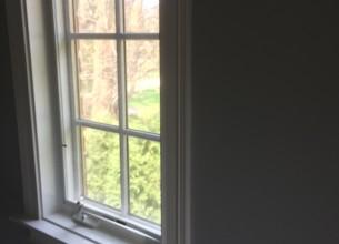 Finish carpentry window trim