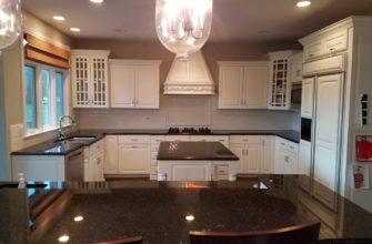 Beautiful Wheaton kitchen subway backsplash installation 4