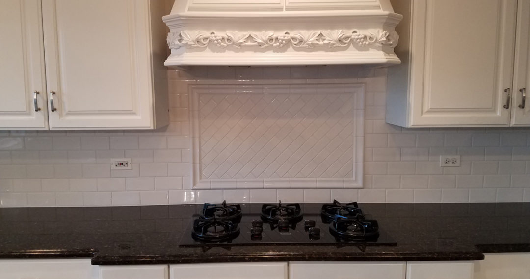 Beautiful Wheaton kitchen subway backsplash installation Beautiful
